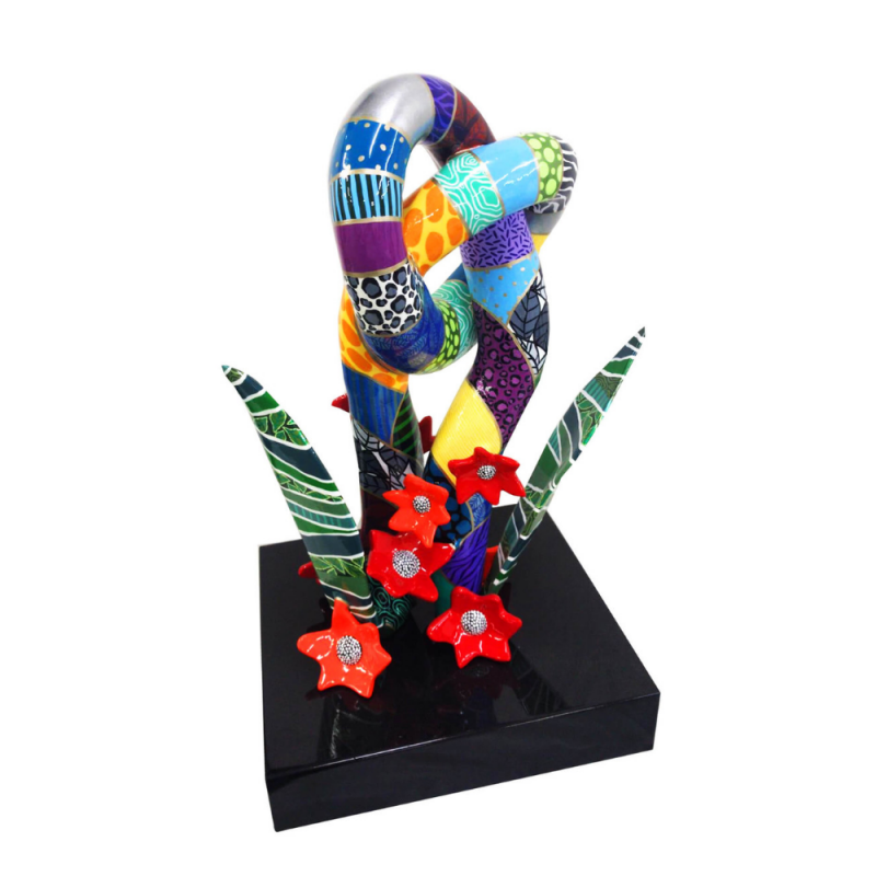 dorit-levinstein-sculpture-cactus-couple